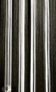 fadenvorhang schwarz wei 090 cm x 240 cm fadenvorhang. Black Bedroom Furniture Sets. Home Design Ideas
