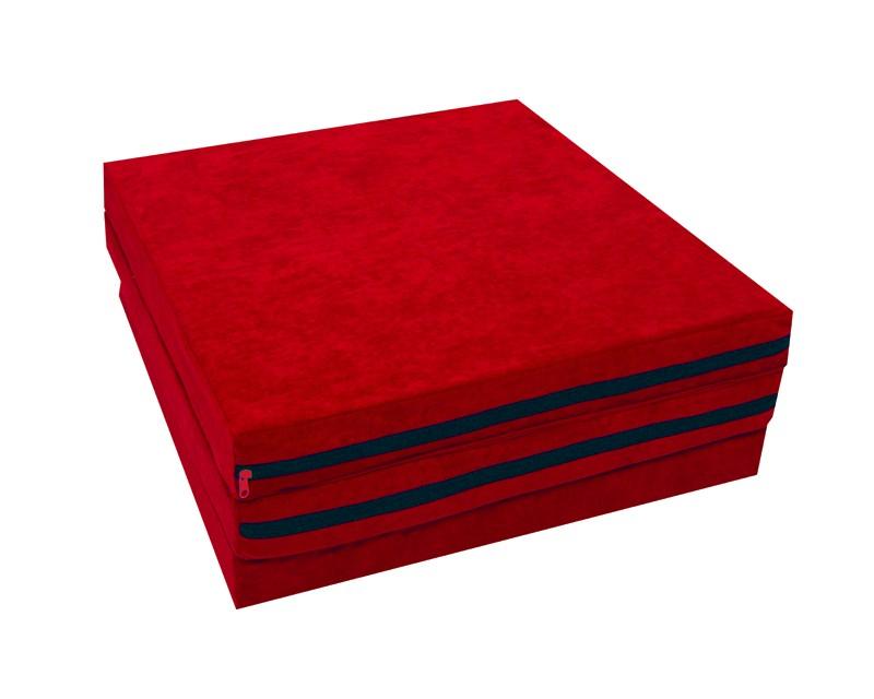 faltmatratze klappmatratze rot kaikoon g stebett reisebett matratze klappbar neu ebay. Black Bedroom Furniture Sets. Home Design Ideas