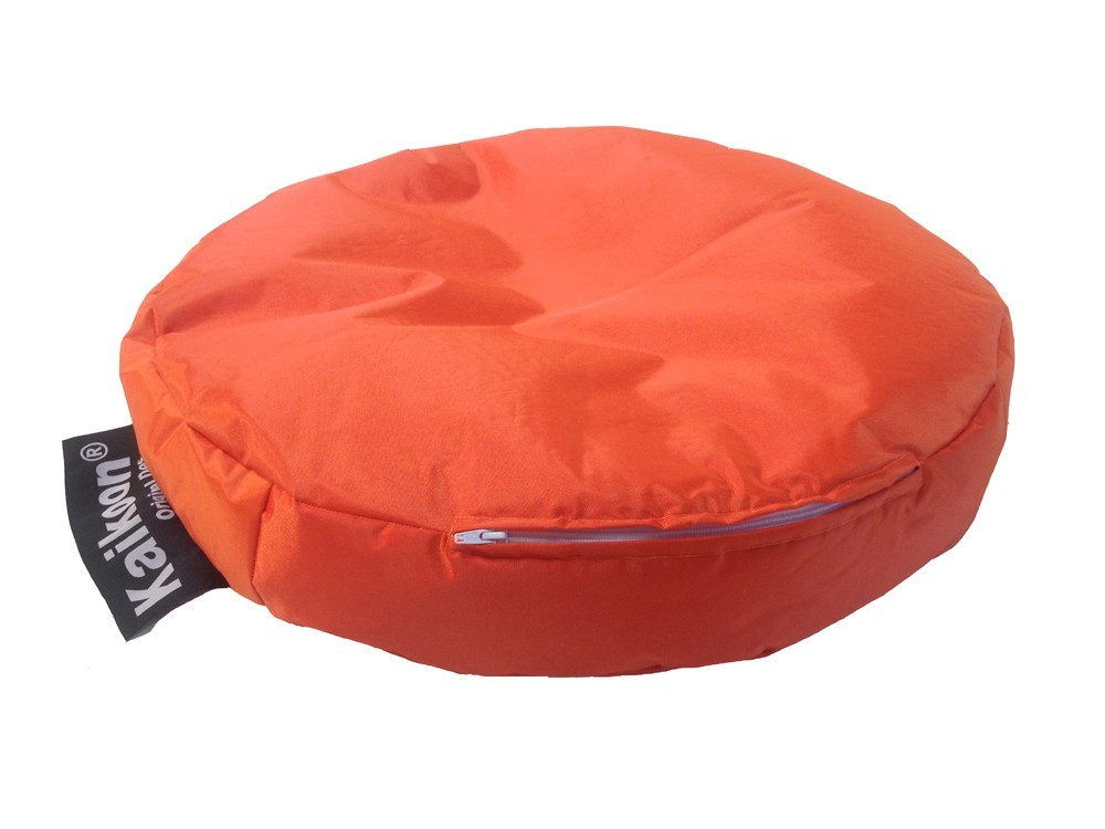 outdoor sitzsack sitzkissen sitz relax katze orange ebay. Black Bedroom Furniture Sets. Home Design Ideas