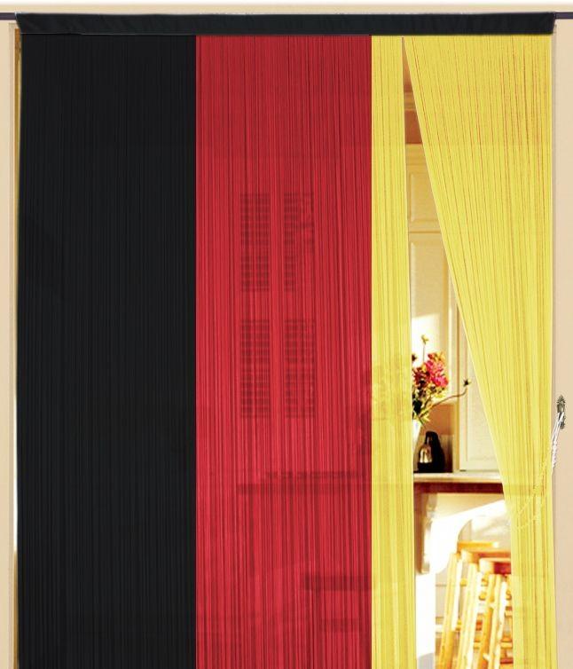 fadenvorhang deutschland 90 cm x 240 cm fadenvorh nge fadenvorhang fadenvorhang fahne liga. Black Bedroom Furniture Sets. Home Design Ideas