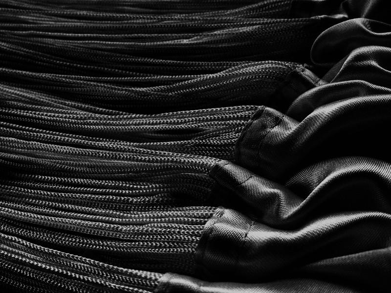 fadenvorhang 300 cm x 400 cm bxh schwarz fadenvorh nge fadenvorhang fadenvorhang bis 3 m. Black Bedroom Furniture Sets. Home Design Ideas