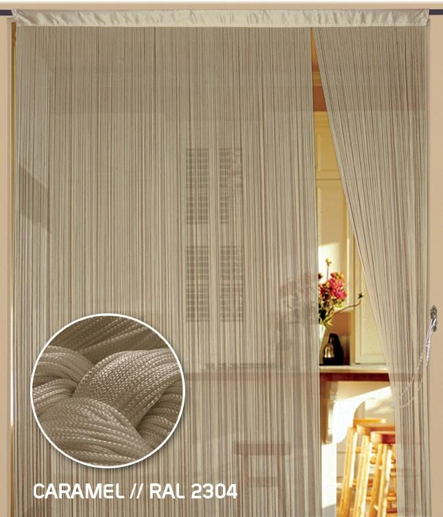 fadenvorhang 150 cm x 300 cm bxh caramel fadenvorh nge fadenvorhang fadenvorhang bis 1 5 m. Black Bedroom Furniture Sets. Home Design Ideas