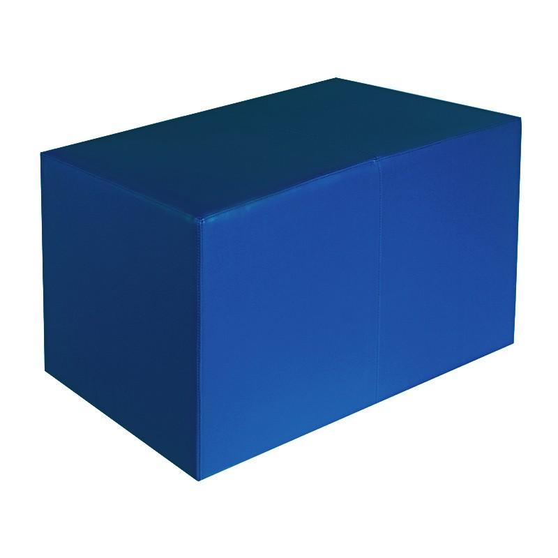 sitzbank blau ma e 70 cm x 35 cm x 42 cm sitzw rfel hocker sitzw rfel hocker sitzbank. Black Bedroom Furniture Sets. Home Design Ideas